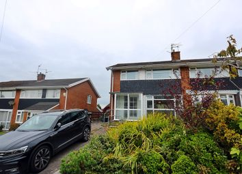Thumbnail 3 bedroom semi-detached house for sale in Widecombe Drive, Rumney, Cardiff
