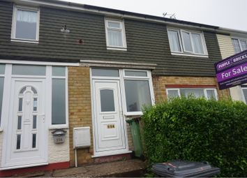Thumbnail 3 bed terraced house to rent in Shelley Road, Wellingborough