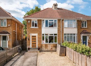 Thumbnail 4 bedroom semi-detached house for sale in Forester Avenue, Bath