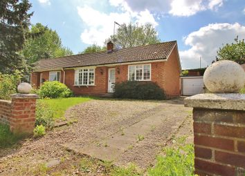 Thumbnail 2 bed semi-detached bungalow for sale in West End, Old Costessey, Norwich