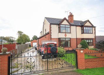 Thumbnail 4 bed semi-detached house for sale in Hall Villa Lane, Toll Bar, Doncaster