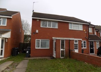 Thumbnail 2 bed semi-detached house for sale in Villa Street, Lozells, Birmingham