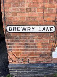 Thumbnail Studio to rent in Flat C, Drewry Lane, Derby