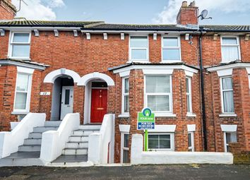 Thumbnail 4 bed terraced house for sale in Darby Road, Folkestone