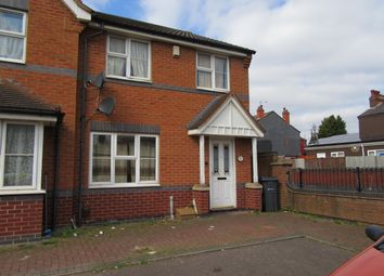 Thumbnail 3 bed end terrace house for sale in Fordrough Lane, Bordesley Green, Birmingham, West Midlands