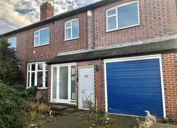 Thumbnail 4 bed semi-detached house for sale in Gainsborough Road, Leicester