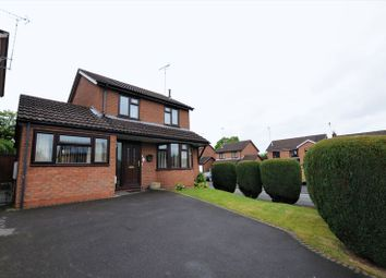 Thumbnail 3 bed detached house for sale in Milverton Drive, Uttoxeter