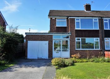 Thumbnail 3 bed semi-detached house for sale in Longnor Road, Heald Green