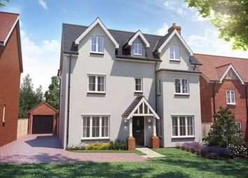Thumbnail 5 bedroom detached house for sale in Cambridge Road, Stansted