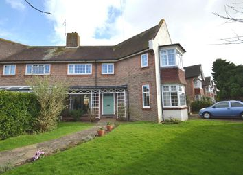 Thumbnail 4 bed semi-detached house for sale in Heene Way, Worthing, West Sussex