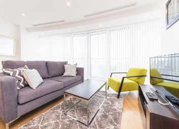 Thumbnail 1 bed flat to rent in Arena Tower, 25 Crossharbour Plaza, London, Canary Wharf
