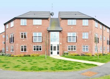 Thumbnail 2 bed flat for sale in St Marys House, Victory Close, Lichfield