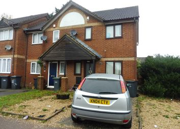Thumbnail 2 bedroom end terrace house for sale in Milliners Way, Luton