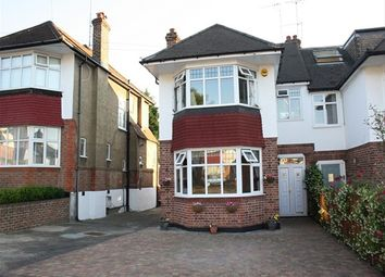 Thumbnail 3 bed semi-detached house to rent in Cowper Road, London