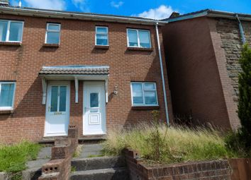 Thumbnail 3 bed semi-detached house for sale in Upper Brynhyfryd Terrace, Senghenydd, Caerphilly