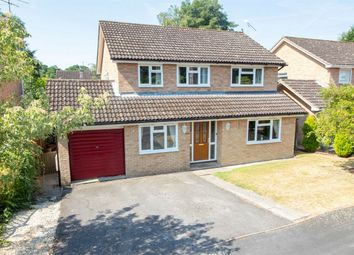 Thumbnail 4 bed detached house for sale in Priory Close, Fleet