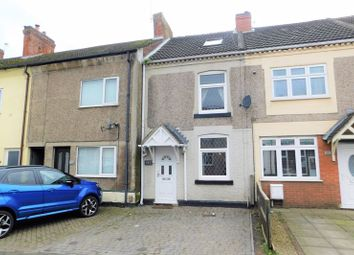 3 bed terraced house for sale in Central Road, Hugglescote, Coalville LE67