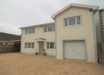Thumbnail 5 bed detached house for sale in Glebe Road, Loughor, Swansea