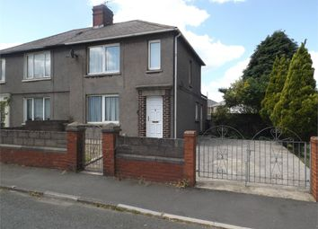 Thumbnail 3 bed semi-detached house for sale in Saltoun Street, Margam, Port Talbot, West Glamorgan