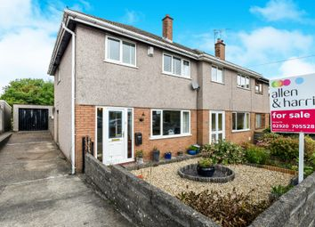 Thumbnail 3 bed semi-detached house for sale in Dryden Road, Penarth
