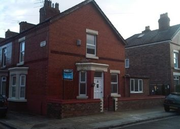 Thumbnail 3 bedroom end terrace house to rent in Kempton Road, Wavertree, Liverpool 15