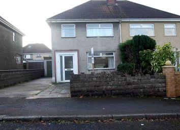 3 bed semi-detached house to rent in Brynsiriol Road, Fforestfach, Swansea, Abertawe SA5