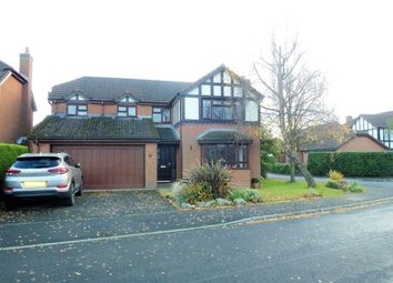 Thumbnail 4 bed detached house for sale in Chaucer Close, Eccleston