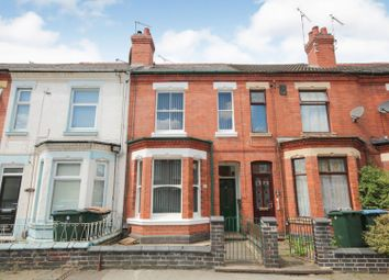 Thumbnail 2 bed terraced house for sale in St. Osburgs Road, Coventry