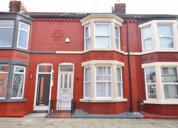Thumbnail 4 bed terraced house for sale in Ashbourne Road, Aigburth, Liverpool