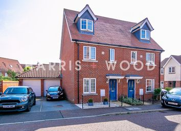 Weyland Drive, Stanway, Colchester CO3. 3 bed semi-detached house