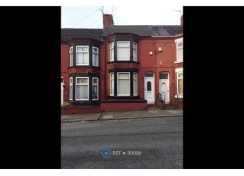 Thumbnail 3 bedroom terraced house to rent in Baytree Road, Birkenhead