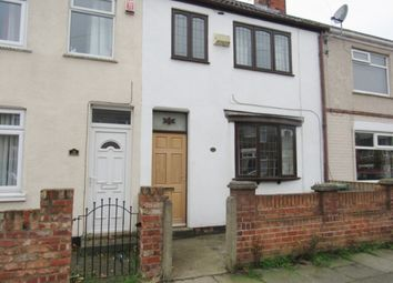 Thumbnail 3 bed terraced house to rent in Norman Road, Grimsby