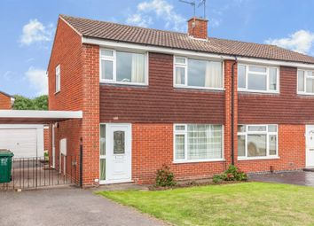 Thumbnail 3 bed semi-detached house for sale in Derwent Drive, Stenson Fields, Derby