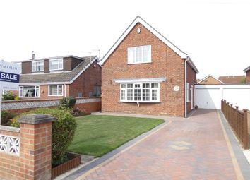 Thumbnail 3 bed detached house for sale in Oakwood Drive, Wybers Wood, Grimsby