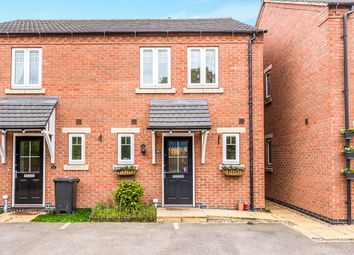 Thumbnail 3 bed semi-detached house for sale in Merton Close, Church Gresley, Swadlincote