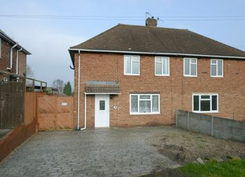 Thumbnail 2 bed semi-detached house for sale in Windermere Road, Chesterfield