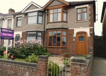 Thumbnail 3 bedroom end terrace house for sale in Honiton Road, Coventry