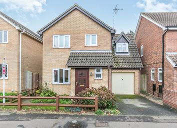 Thumbnail 3 bedroom detached house for sale in Pampas Close, Highwoods, Colchester