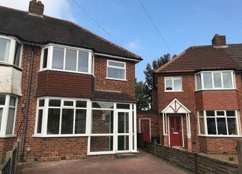 Thumbnail 3 bed semi-detached house to rent in Hazel Croft, Northfield, Birmingham