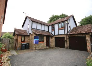 Thumbnail 4 bed detached house for sale in Hitherwood Close, Waterlooville