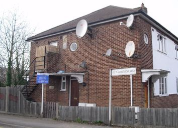 Thumbnail 2 bed maisonette to rent in Elmwood Avenue, Hanworth, Middlesex