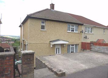 Thumbnail Semi-detached house to rent in Porcher Avenue, Glyncoch, Pontypridd