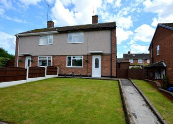 Thumbnail 2 bed semi-detached house for sale in Macdonald Close, Grassmoor, Chesterfield