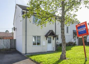Thumbnail 2 bed semi-detached house for sale in Grampound Road, Truro, Cornwall