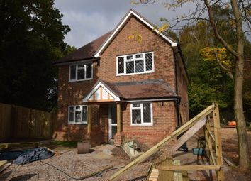 Thumbnail 4 bed detached house for sale in Mytchett Road, Mytchett, Camberley, Surrey