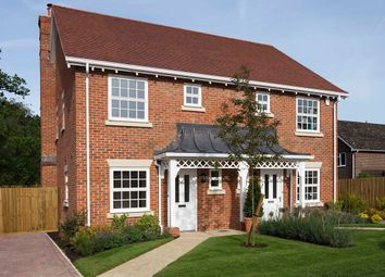Thumbnail 2 bed semi-detached house for sale in Woodland View, Church Lane, Colden Common, Hampshire