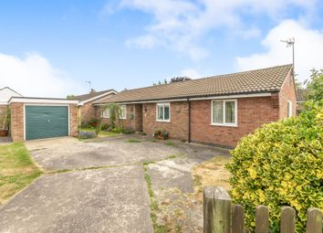 Thumbnail Semi-detached bungalow for sale in Mercia Drive, Ancaster, Grantham