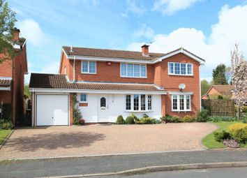 Thumbnail 5 bed detached house for sale in 10 Grebe Close, Holmer Lake, Telford