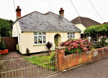 Thumbnail 3 bed detached bungalow for sale in Coates Road, Sholing