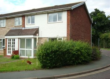Thumbnail 3 bed semi-detached house to rent in Shetland Close, Ipswich